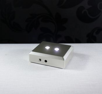 Base Luz fita de LED - 70x60mm