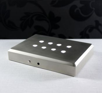Base luz fita de LED - 140x100mm