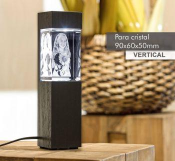 Coluna de Luz NANICO(V) para *cristal 90x60x50mm -Vertical-