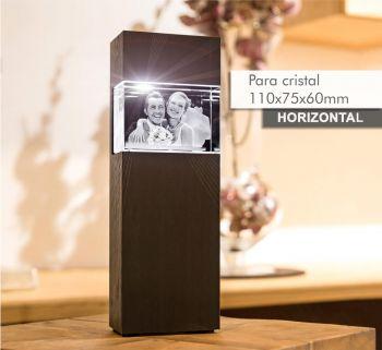 Coluna de Luz MEDIAL(H) para *cristal 110x75x65mm -Horizontal-