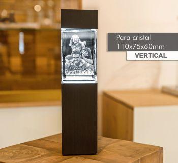 Coluna de Luz MEDIAL(V) para *cristal 110x75x65mm -Vertical-