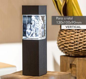 Coluna de Luz NOBRE(V) para *cristal 130x100x90mm -Vertical-