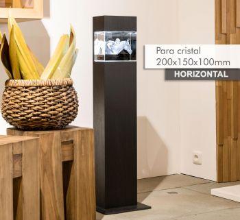 Coluna de Luz MAGNO(H) para *cristal 200x150x100mm -Horizontal-